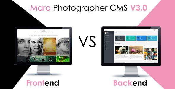 Maro Phpotographer CMS
