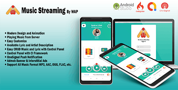 Music Streaming App Plugins, Code & Scripts from CodeCanyon