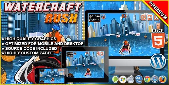 Watercraft Rush - HTML5 Racing Game
