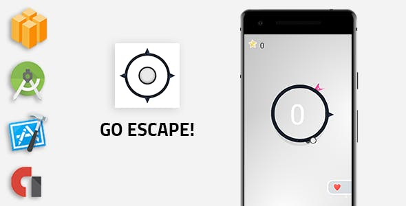 Go Escape  - Buildbox Template