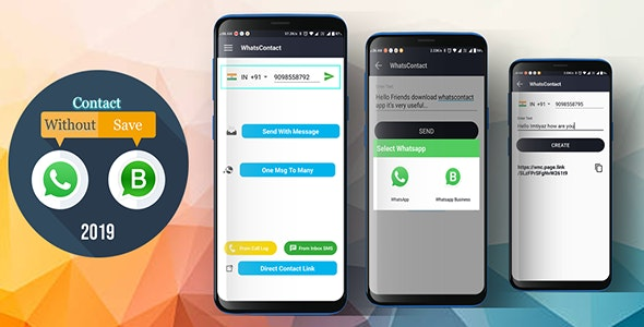WhatsContact ( Direct Message For WhatsApp ) - CodeCanyon Item for Sale