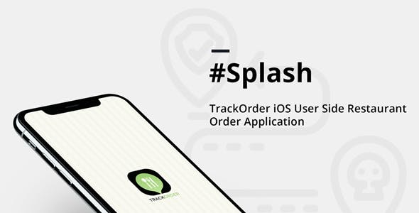 Track order ,Restaurant and Food delivery iPhone Native Application Template