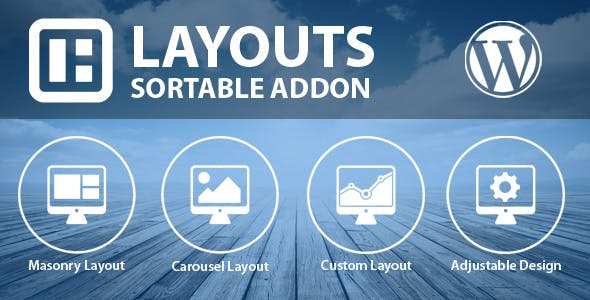 Sortable Layouts Addon