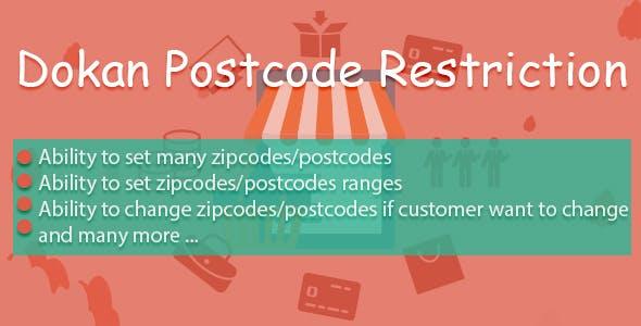 Dokan Postcode Restriction