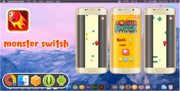 Monster Switch ( Android Project + Eclipse + Admob + Bbdoc )