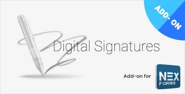 Digital Signatures for NEX-Forms