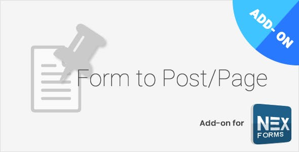 Form to Post/Page for NEX-Forms