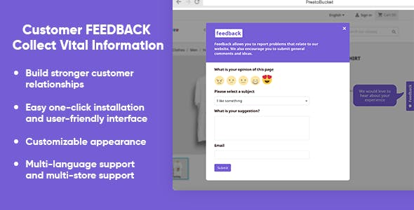 Advanced Customer FEEDBACK Collect Vital Information