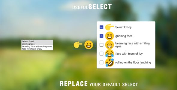 usefulSelect - Replace your Default Select Tag