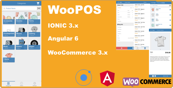 WooPOS  Point Of Sale with IONIC.+ Woocommerce