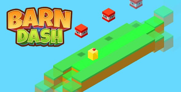 Isometric Barn Dash Game - HTML5 & CAPX