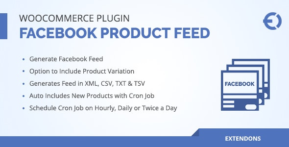 WooCommerce Facebook Product Feed Plugin - CodeCanyon Item for Sale