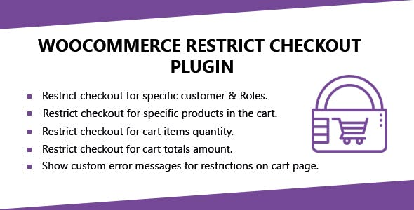 WooCommerce Restrict Checkout Plugin