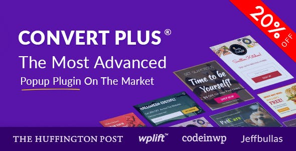 Popup Plugin For WordPress - ConvertPlus - CodeCanyon Item for Sale