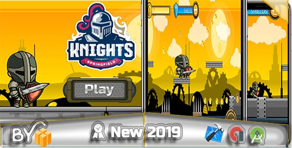 Knight Run - Game 2019 - Ready to publish- ADMOB INTEGRATED