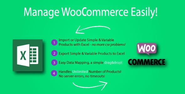 Product Import Export with Excel for WooCommerce