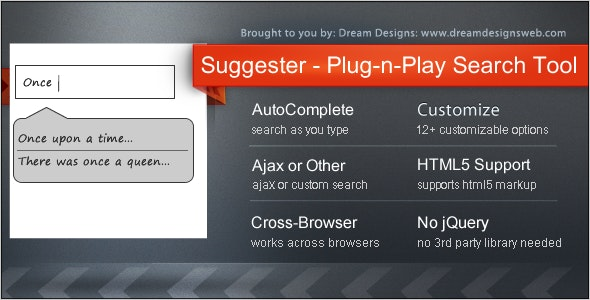 Suggester - the Plug-n-Play Search Tool - CodeCanyon Item for Sale