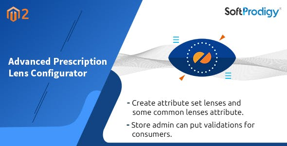 Advance Prescription Lens Configurator Magento2 Extension