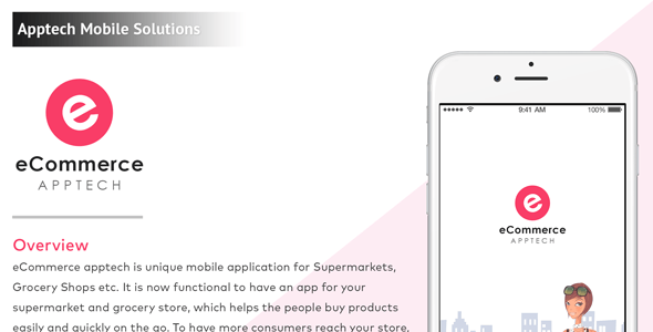 iPhone eCommerce Mobile Application Template