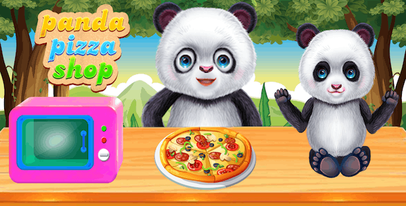 Panda Chef's Kitchen Pizza Cooking + Android studio - CodeCanyon Item for Sale