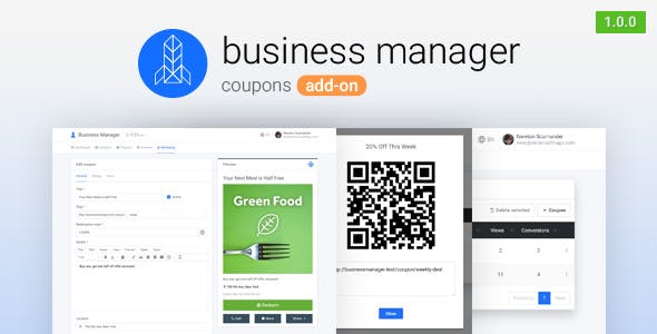Coupons for Business Manager        Nulled
