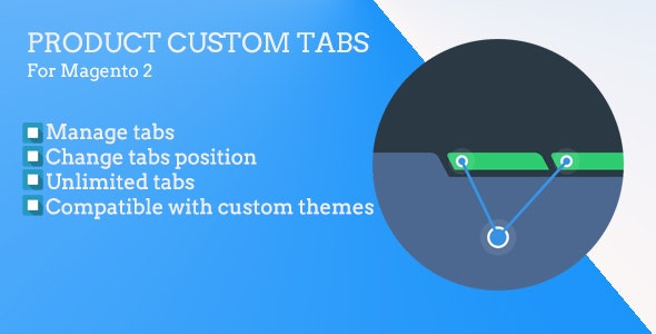 Magento 2 Product Custom Tabs - CodeCanyon Item for Sale