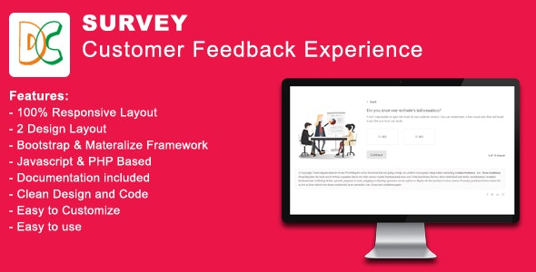 Survey - Customer Feedback Experience - CodeCanyon Item for Sale