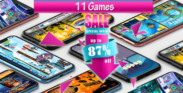 11 ANDROID GAMES!!! SUPER BUNDLE №1