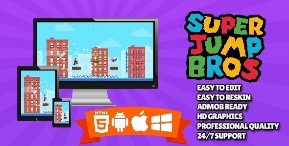 Super Jump Bros - CodeCanyon Item for Sale