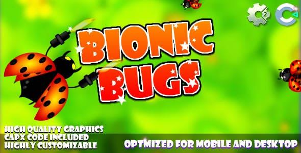 Bionic Bugs - (C2, C3, HTML5) Game.