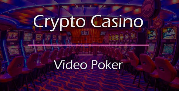 Video Poker Game Add-on for Crypto Casino