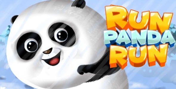 Run Panda Run - HTML5 Game (Construct 2 / 3)