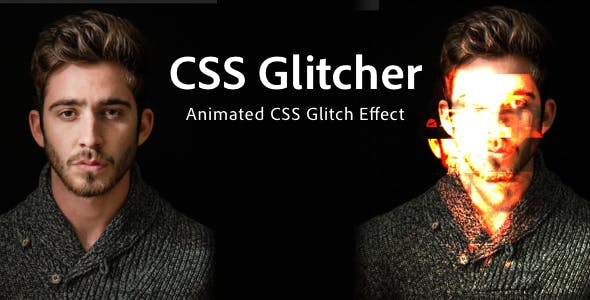 CSS Glitcher — Expressive Animated Effect