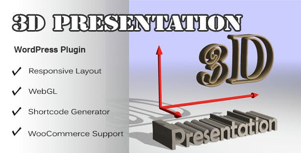 3d Presentation - WordPress 3d Display Plugin - CodeCanyon Item for Sale