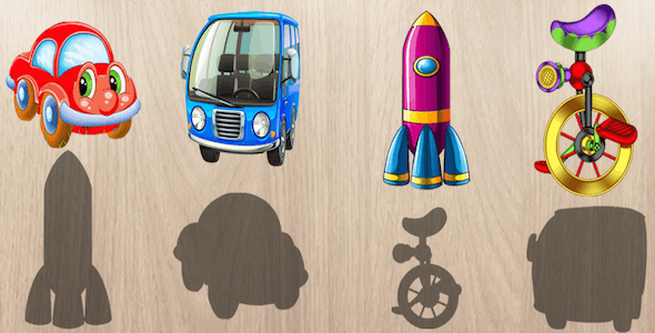 Android Puzzle for Toddlers : Vehicles, Cars and Trucks ! Educational Puzzles Games