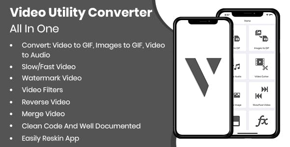 Video Utility App - iOS