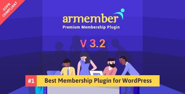 ARMember - WordPress Membership Plugin        Nulled