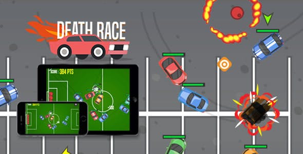 Death Race - HTML5 Game