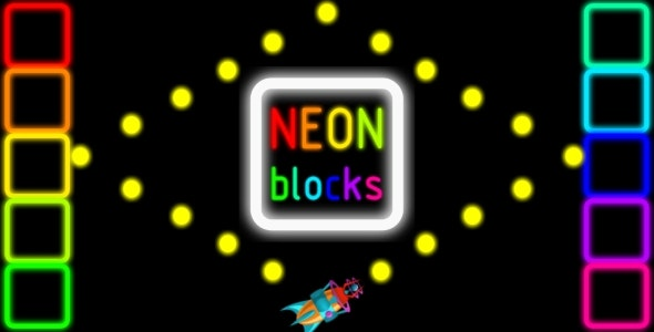 Neon Bloks - HTML5 PC&Mobile Game (Construct 2-3) - CodeCanyon Item for Sale