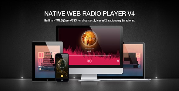Native Web Radio Player Plugin by sodah | CodeCanyon