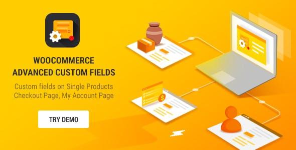 Advanced Custom Fields for WooCommerce