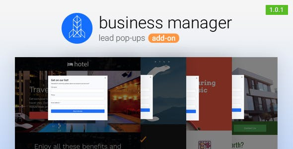 Lead Pop-ups for Business Manager        Nulled
