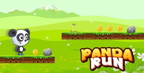 Panda Runner + Little Panda Jungle Adventure Games For Kids + Android studio + Admob + GDPR