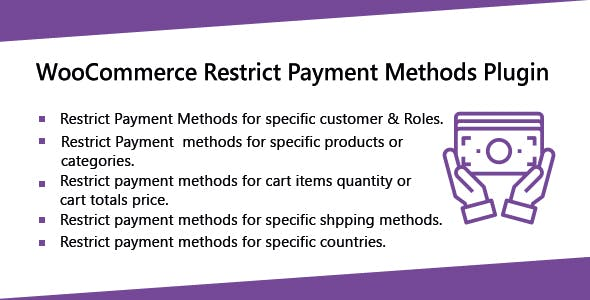 WooCommerce Restrict Payment Methods Plugins