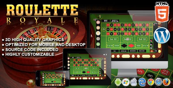 Roulette Royale - HTML5 Casino Game