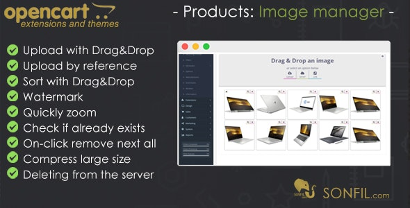 OpenCart  Image Manager - CodeCanyon Item for Sale