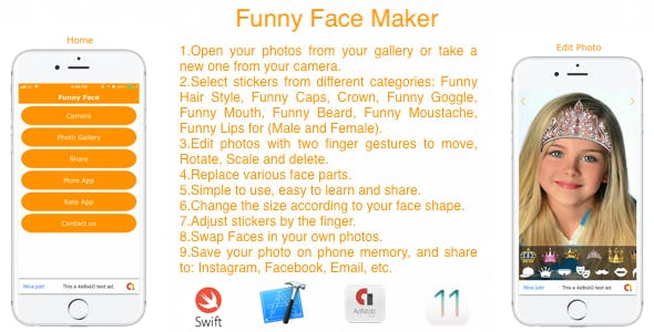 Funny Face Maker