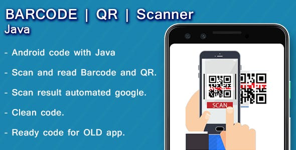 Android barcode and QR scanner