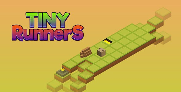 Isometric Tiny Runners Game - HTML5 & CAPX