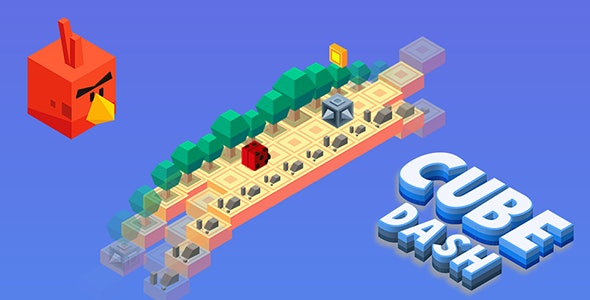 Cube Dash Isometric HTML5 Game + Construct 2/3 Files - CodeCanyon Item for Sale